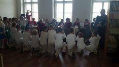 Vystúpenie žiakov ZŠ Lemešany v Dennom stacionári