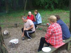 Stretnutie ZŤP na chate Medulienka